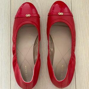Cole Haan Elsie ballet flats - red